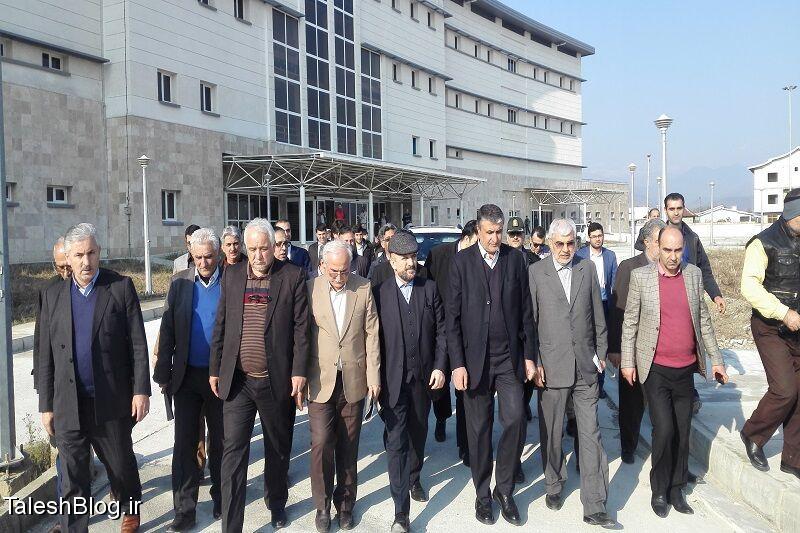 بازدید وزیر راه و شهرسازی از بیمارستان جدید هشتپر