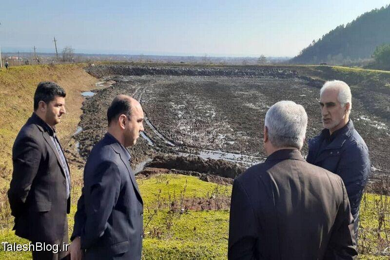 آغاز بهسازی آببندانهای کشاورزی در هشتپر