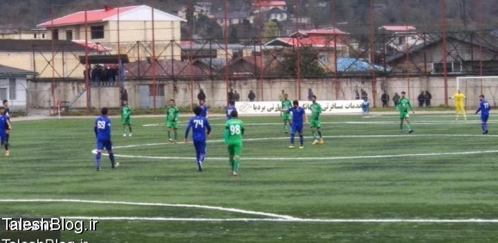 تیم چوکای تالش با یک گل تیم شهدای بابلسر را برد